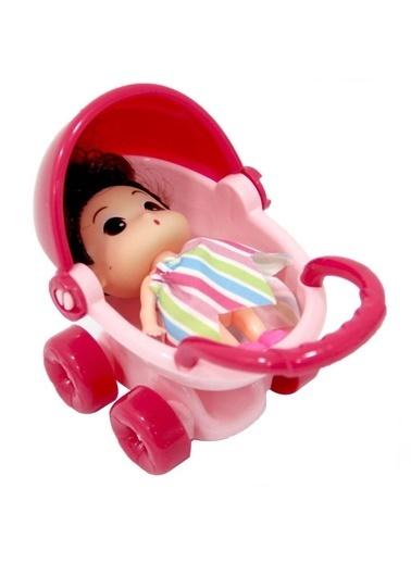 Birlik Oyuncak Birlik Oyuncak 325C Pusetli Mini Şirin Bebek Oyuncak Renkli
